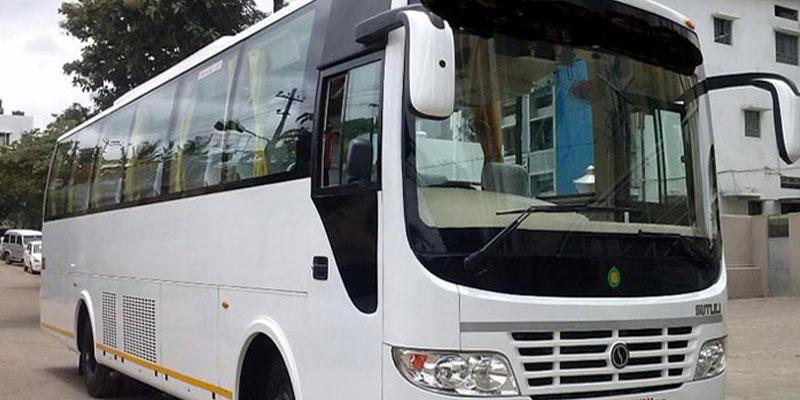 Hire 35 Seater Non AC Bus